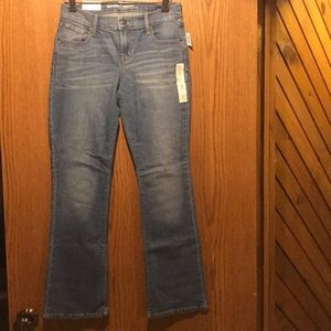 Boot cut mid rise jeans NWT